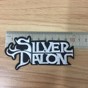 Silver Talon Logo Patch
