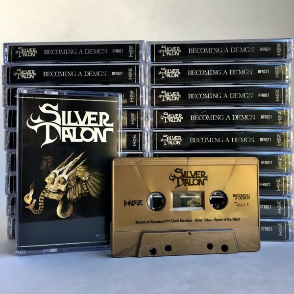 Silver Talon Becoming A Demon Cassette