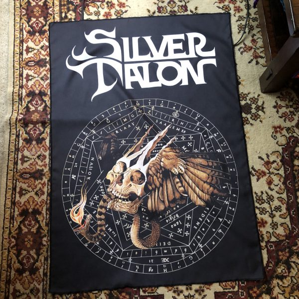 Silver Talon Becoming A Demon Tapestry