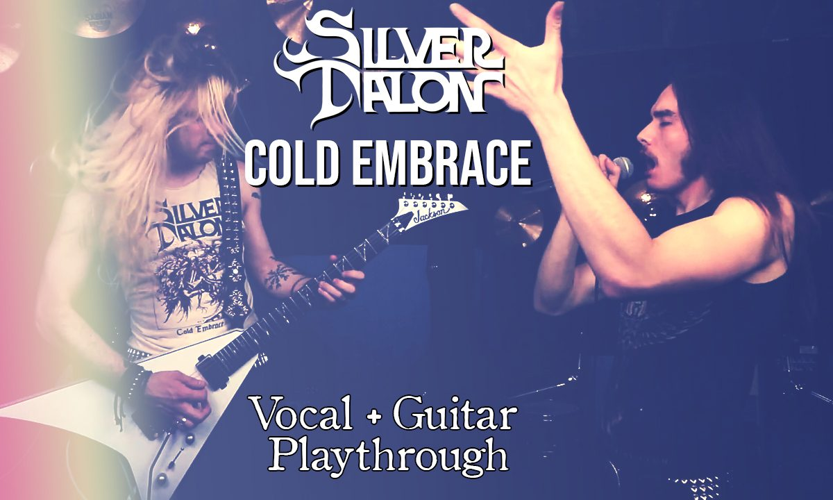 Cold Embrace Vocal + Guitar Playthrough