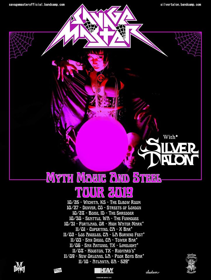 Savage Master Silver Talon Myth Magic Steel Tour