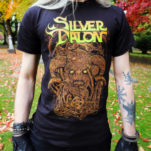 Silver Talon Trash Demon Shirt Pumpkinhead Edition